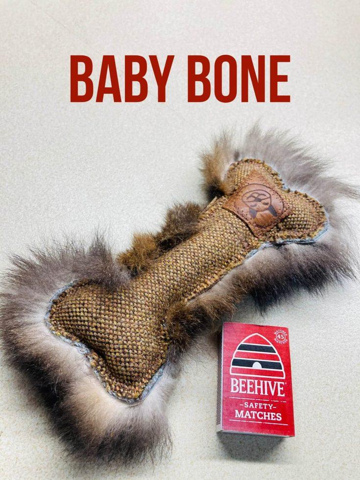 FunDiggityDog Baby Bone
