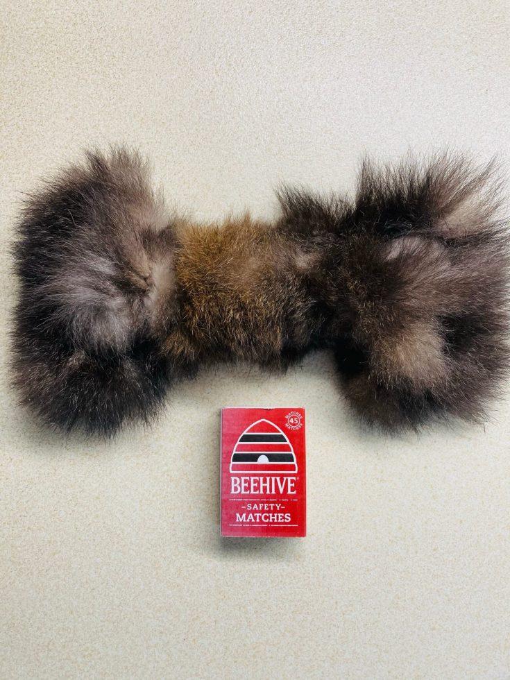 FunDiggityDog baby bone possum fur