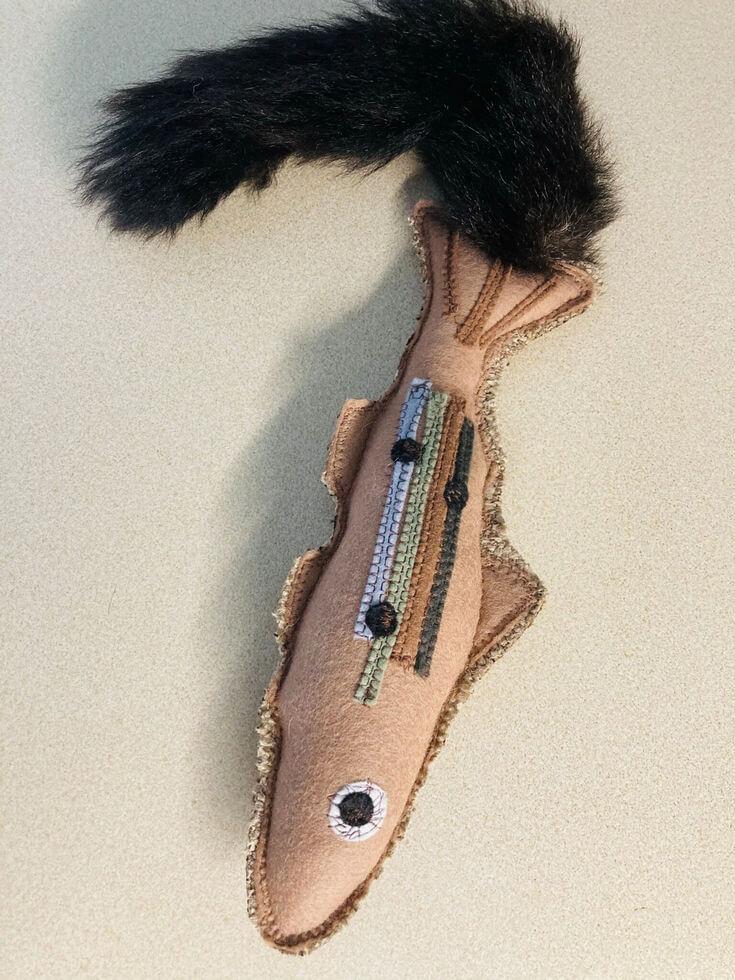 FunDiggityDog Brown Trout Dog Toy